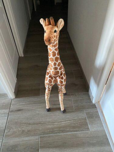 Pluszak w kształcie żyrafy photo review