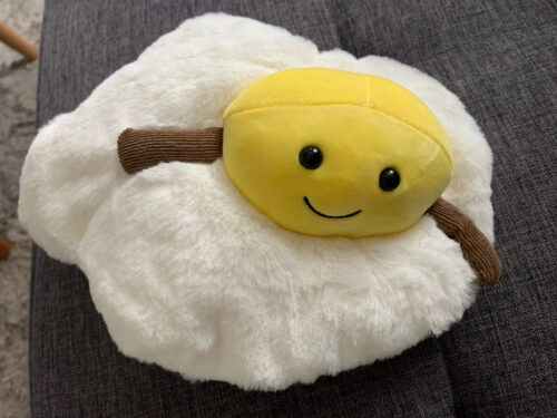 Pluszak w kształcie jajka photo review