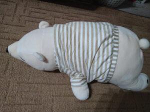 Poduszka pluszowa w kształcie misia photo review