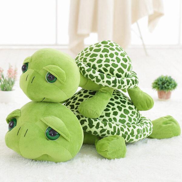 śmieszny plszak w kształcie żółwia