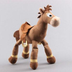 śmieszny pluszak w kształcie konia z toy stroy