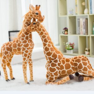 smieszne pluszaki w ksztalcie zyrafy