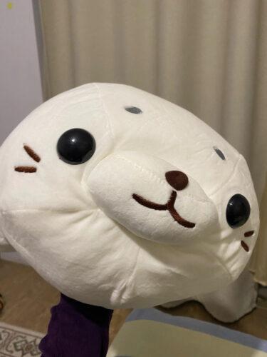 Poduszka pluszowa w kształcie foki photo review