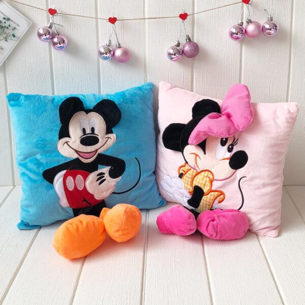 poduszki pluszowe z motywem myszki miki